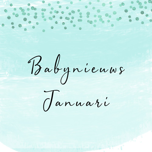 Babynieuws januari