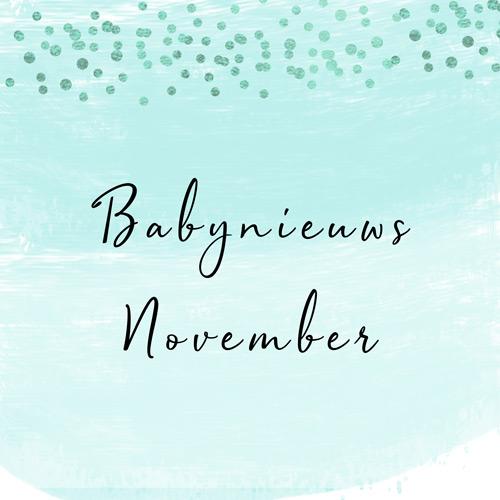 Babynieuws november