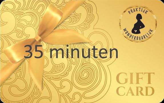 Wonderbaarlijk yoga gift card zwangerschapsmassage 35 min