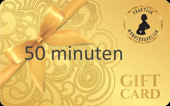 Wonderbaarlijk yoga gift card zwangerschapsmassage 50 min